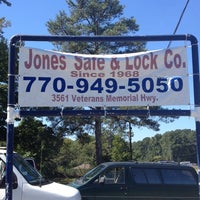 Photo taken at Jones Safe & Lock Co. by Larry R. on 9/27/2013