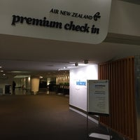Photo taken at Air NZ Premium Check In by Jeff S. on 8/31/2015