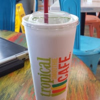 photo taken at tropical smoothie cafe by adna on 8142015 - Tropical Cafe 2015