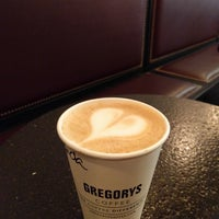 Photo taken at Gregory's Coffee by Adna on 9/29/2017