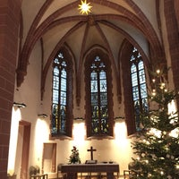 Photo taken at Alte Nikolaikirche by Ulş E. on 1/1/2017