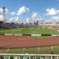 Photo taken at The Nyayo National Stadium by Ray &. on 11/17/2013