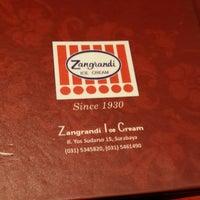 Photo taken at Zangrandi Ice Cream by Wisnu S. on 9/10/2014