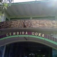 Photo taken at Kebun Binatang Gembira Loka by Ziyad F. on 7/5/2013