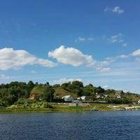 Photo taken at Пощупово by Alexandra N. on 8/15/2015