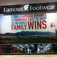 Photo taken at Famous Footwear by Eric B. on 12/27/2012