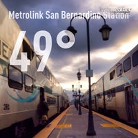 Photo taken at Metrolink San Bernardino Station by Eric B. on 11/10/2013
