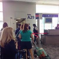 Photo taken at Gate A29 by Glen W. on 8/8/2014