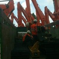 Photo taken at PT. Hexindo Adiperkasa Tbk (Hitachi Heavy Equipment) by Gilang d. on 3/24/2014