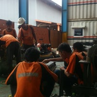 Photo taken at PT. Hexindo Adiperkasa Tbk (Hitachi Heavy Equipment) by Gilang d. on 5/12/2014