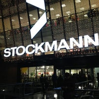 Photo taken at Stockmann by Evgeniy A. on 1/3/2013
