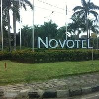 Photo taken at Novotel Palembang Hotels & Residence by Lazi F. on 11/16/2012