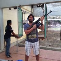 Photo taken at Patong Shooting Range by Murat K. on 1/29/2014