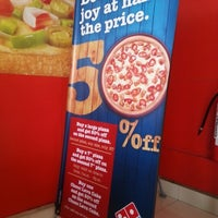 Photo taken at Domino's Pizza by dhondhooni on 2/11/2013