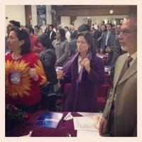 Photo taken at Auditorio Iglesia Cristiana Filadelfia Central by Mario F. on 6/26/2013