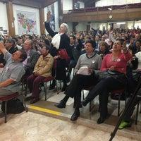 Photo taken at Auditorio Iglesia Cristiana Filadelfia Central by Mario F. on 9/12/2013