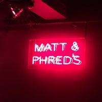 Photo taken at Matt & Phreds Jazz Club by Olivier B. on 5/9/2015