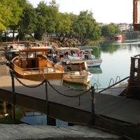 Photo taken at Manavgat Irmak Kenarı by Hatice Ç. on 6/27/2013