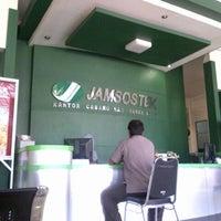 Photo taken at Jamsostek Office by Fuad N. on 1/7/2013