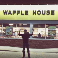 Photo taken at Waffle House by Courtney K. on 3/15/2014