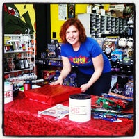 Photo taken at Kapow! Comics, Cards and Games by Kallie D. on 12/6/2014