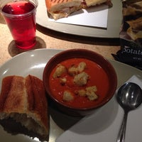 Photo taken at Panera Bread by Candice B. on 4/17/2014