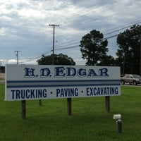 Photo taken at H.D. Edgar Trucking Company Inc., by Gus E. on 7/11/2013