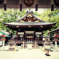 Photo taken at 護王神社 (Goô-jinja Shrine) by Shuichiro O. on 5/22/2014