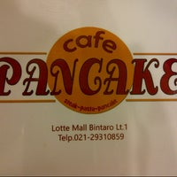Photo taken at Cafe Pancake by Chichy H. on 1/20/2014