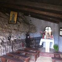 Photo taken at Ste Rafqa Church by Elias G. on 11/27/2013