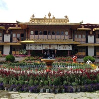 Photo taken at Norbulingka by Joseph J. on 6/28/2013