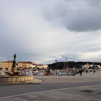 Photo taken at Fontana u Rovinju by Eva D. on 2/23/2014