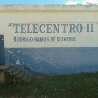 Photo taken at Telecentro II Rodrigo Ramos de Oliveira by Cristiano Inácio d. on 6/25/2013