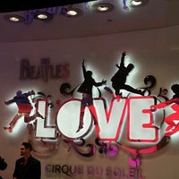 Photo taken at The Beatles LOVE (Cirque Du Soleil) by Island7007 L. on 4/13/2013