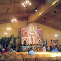 Photo taken at St. Francis Of Assisi Church by Island7007 L. on 4/10/2013