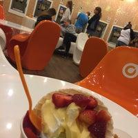 Photo taken at Orange Leaf Frozen Yogurt by Fatima S. on 3/19/2017