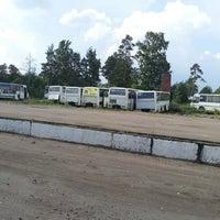 Photo taken at Автобусный Парк by Серёга Л. on 6/27/2013