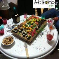 Photo taken at Akikomo Sushi by Akikomo Sushi on 6/22/2013