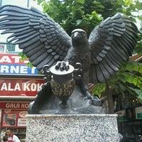 Photo taken at Beşiktaş Square by Mert P. on 6/30/2013
