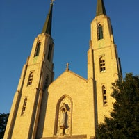 Photo taken at Cathedral of the Immaculate Conception by Sue N. on 7/5/2014