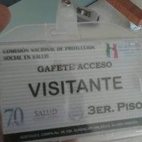Photo taken at Comisión Nacional de Protección Social en Salud by Cendy B. on 4/9/2014