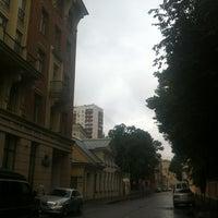 Photo taken at Большой Лёвшинский переулок by Oleg K. on 7/20/2013