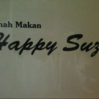 Photo taken at Rumah Makan Happy Suzy by Nina A. on 8/7/2013