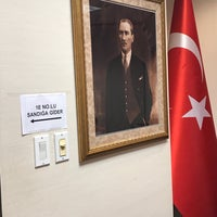 Photo taken at Turkish consulate by Günay Ş. on 6/13/2018