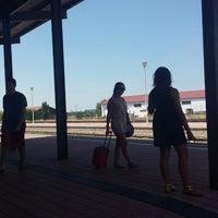 Photo taken at Estación Renfe - Navalmoral de La Mata by Francisco O. on 8/17/2014