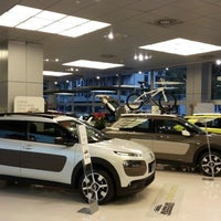 Photo taken at Citroën Milano by Silvio D. on 11/28/2014
