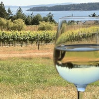 Photo taken at Saturna Island Family Estate Winery by Tara C. on 7/13/2013
