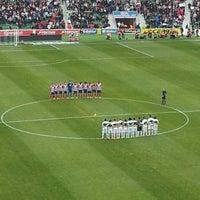 Photo taken at Estadio Manuel Martínez Valero by Betlem on 11/30/2013