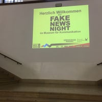Photo taken at Museum für Kommunikation by aaronpk on 5/19/2017