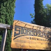 Photo taken at StormBreaker Brewing by aaronpk on 7/11/2017